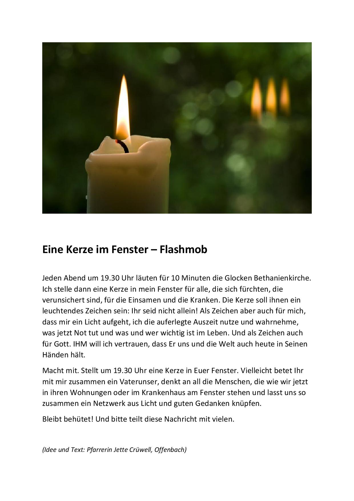 5e74968e734daEine Kerze im Fenster Plakat.png